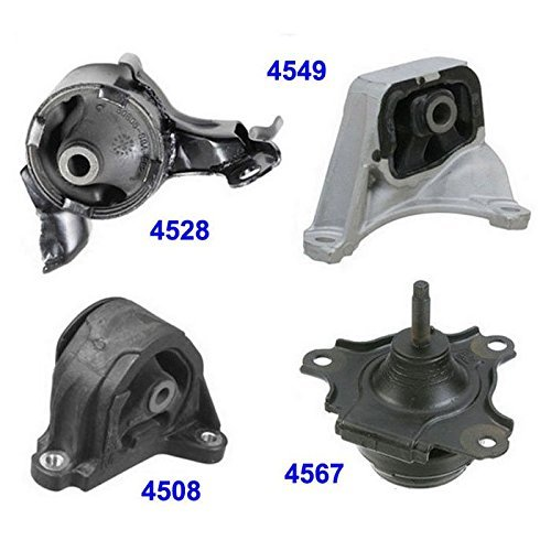 For: 02-06 Acura RSX Type-S 2.0L Engine Motor & Trans Mount 4PCS For Manual Transmission. 02 03 04 05 06 MK4549 MK4567 MK4508 MK4528 M238 ()