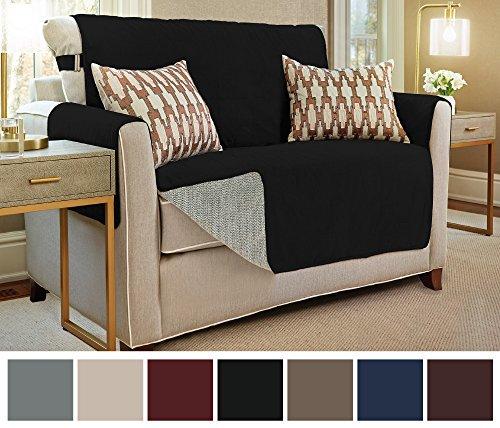 The Original GORILLA GRIP Premium Micro-Suede Slip Resistant Slip-Cover Couch Protector, Furnitu ...