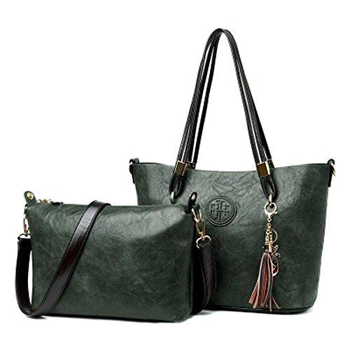 Aoligei Vintage sac à main de romantique Suzi Baotan épaule femme entre deux âges E