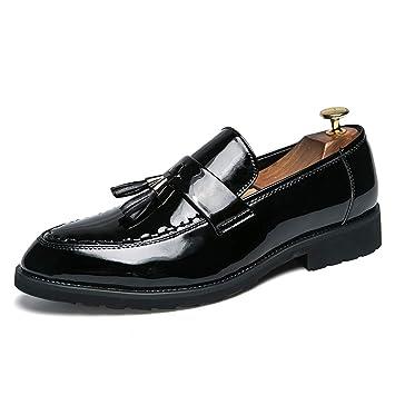 Dundun-shoes Oxford Hombre 2018, Oxford Informal de los Hombres de Negocios con Flecos