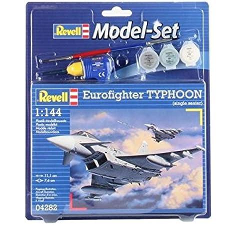 Revell - Maqueta Modelo Set Eurofighter Typhoon, Escala 1:144 (64282): Amazon.es: Juguetes y juegos