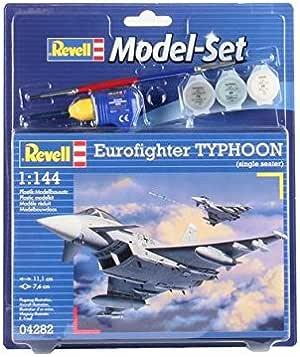 Revell - Maqueta Modelo Set Eurofighter Typhoon, Escala 1