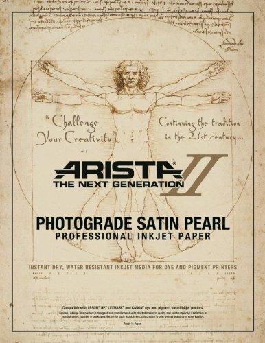Arista II Inkjet Pearl 4 x 6/25 sheets - 10.4mil (2442462) (Inkjet Pearl)