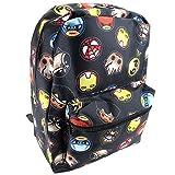 Disney Girls' Princess Emoji Print Backpack