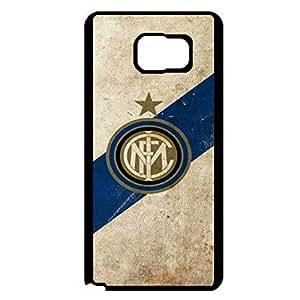 Samsung Galaxy Note 5 Case Plastic Cover, Beautiful Visual FC Internazionale Milano Logo Phone Case Snap on Samsung Galaxy Note 5 Inter Design Cover