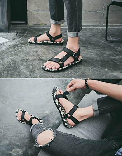 Respeedime Mens Roman Shoes Sports Sandals Slippers Casual Beach Shoes
