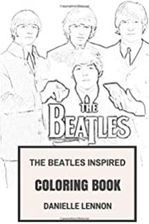 beatles inspired coloring book beatlemania and classic english rock inspired adult coloring book coloring - Beatles Coloring Book