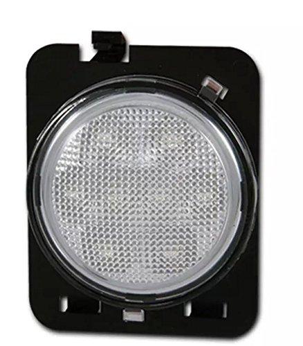 (APHRODITE 1PC LED Front Fender Flare Turn Signal Light Side Marker Lamp For Jeep Wrangler)
