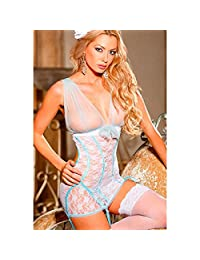 Shirley of Hollywood Women's Stretch Lace Chemise