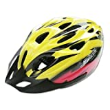 Water & Wood Yellow&Red MTB Bike Bicycle Adult Men's Helmet PVC EPS