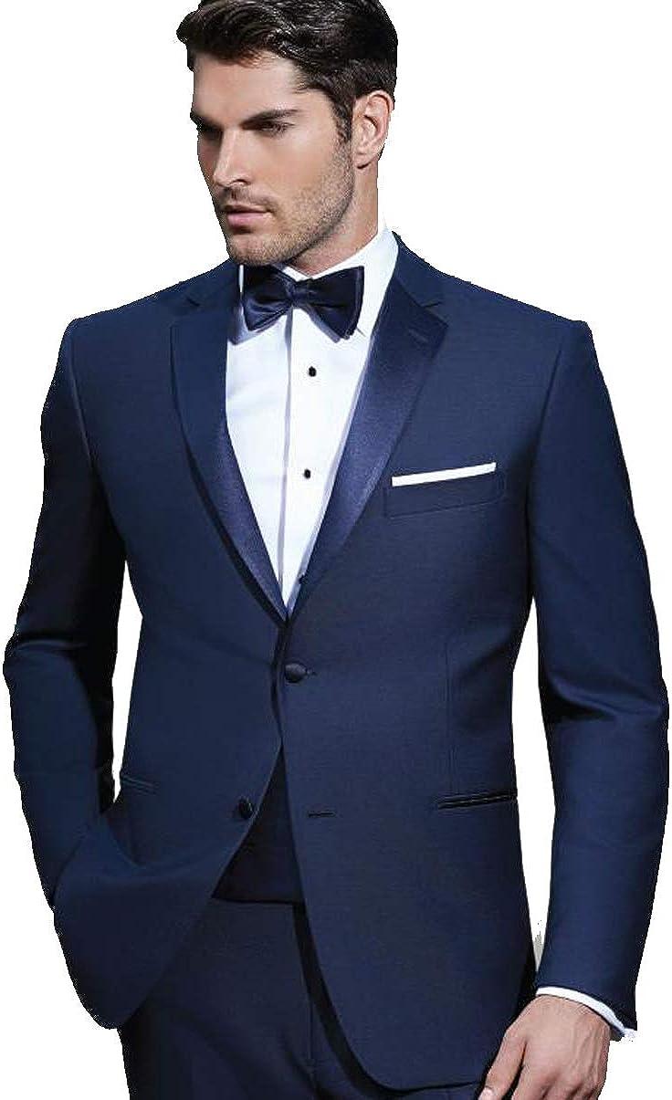 EZ Tuxedo IKE Behar Slim Fit Notch Lapel Tuxedo