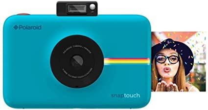 cbe671282ea00 Image Unavailable. Image not available for. Color  Polaroid Snap Touch  Portable Instant Print Digital Camera ...