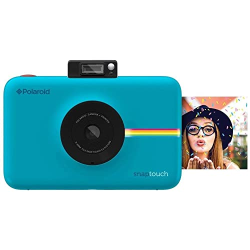 Polaroid Snap Touch Instant Print Digital Camera With LCD Display with Zink Zero Ink Printing Technology (Blue)