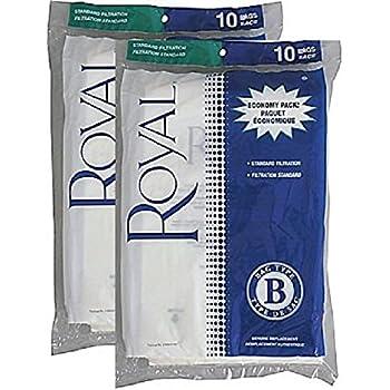 Amazon Com Royal Type B Vacuum Bags 20 Pack