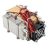 12V 60W Thermoelectric Peltier Refrigeration Cooling Cooler Fan System Heat Sink Kit