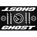 TopBikeDecals Ghost Decals Stickers Bicycle Frame Replacement Graphic Set