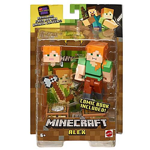 Minecraft Comic Maker Alex Action Figure