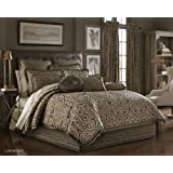 Luxembourg Cal King 4-Piece Comforter Set by J Queen