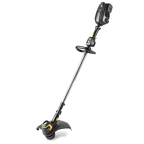 Poulan Pro PRST15i, 15 in. 58-Volt Cordless Straight Shaft String Trimmer Battery Included