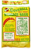 Warp Brothers CB-40 Banana Bags Storage Bags, 40-Inches by 72-Inches, 4-Count