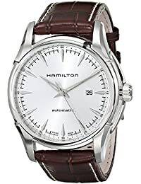 Men's H32715551 Jazzmaster Viewmatic Silver Dial Watch