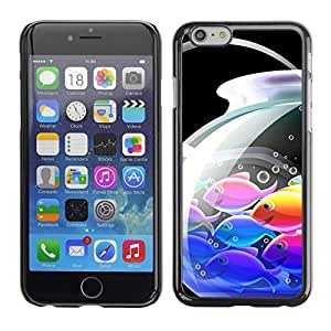 LECELL -- Funda protectora / Cubierta / Piel For Apple iPhone 6 Plus 5.5 -- Japanese Anime Koi Fish --