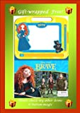 DISNEY PIXAR BRAVE 22-Page Storybook & Magnetic Drawing Kit - Includes an easy to use magnetic pen