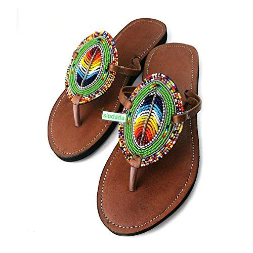 8b132076ae35 GlobalHandmade USA Women Sandy Reef Sandals Shoes Thong Flip Flops Flat T  Strap Style
