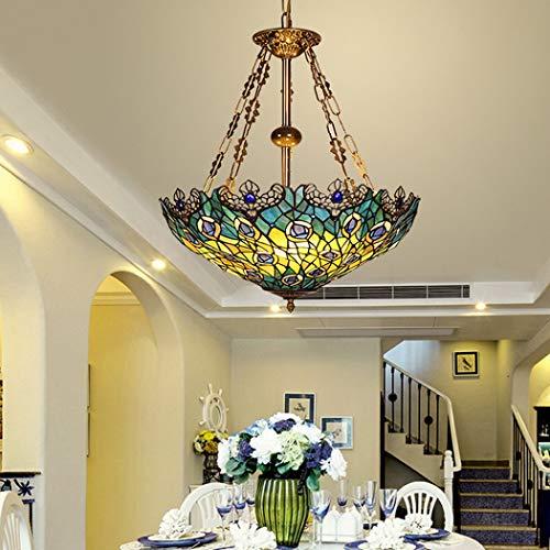 W&HH Restaurant Chandelier Three Lights Creative Mediterranean Pastoral Aisle Corridor Balcony Kitchen Table Single Head Chandelier