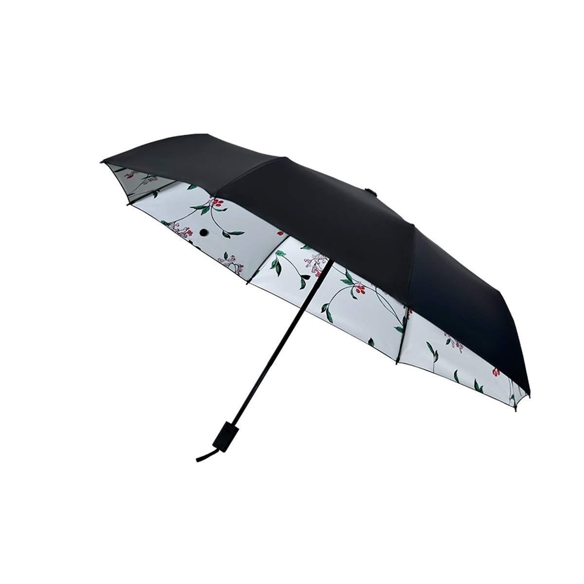ebc0d1806d20 Amazon.com: Qinniao Umbrella 8 Skeleton, Black Plastic Sunscreen ...