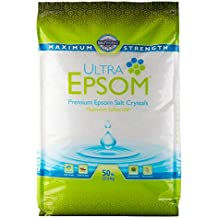 Ultra Epsom Premium Epsom Salt, Coarse - 50 lb Bag