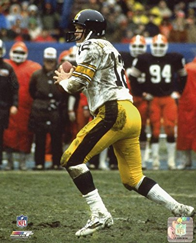 TERRY BRADSHAW PITTSBURGH STEELERS UNSIGNED 8X10 PHOTO ()