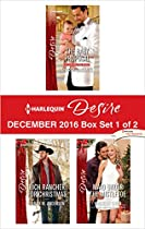 HARLEQUIN DESIRE DECEMBER 2016 - BOX SET 1 OF 2: THE BABY PROPOSAL\MAID UNDER THE MISTLETOE\RICH RANCHER FOR CHRISTMAS