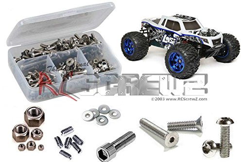 (LOS100 - Team Losi LST 3XL-E (LOS04015) Stainless Steel Screw Kit)