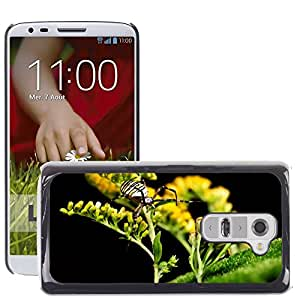 GoGoMobile Slim Protector Hard Shell Cover Case // M00119119 Spider Wasp Spider Macro Nature // LG G2 D800 D802 D802TA D803 VS980 LS980