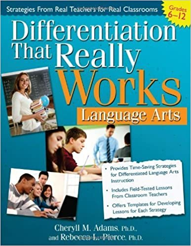 Differentiation That Really Works: Language Arts by Cheryll Adams Ph.D. (2011-11-07)