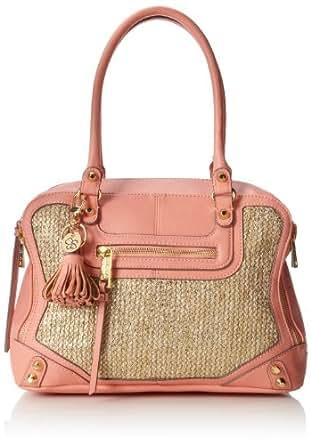 Jessica Simpson Katia Top Handle Bag,Bright Peach,One Size