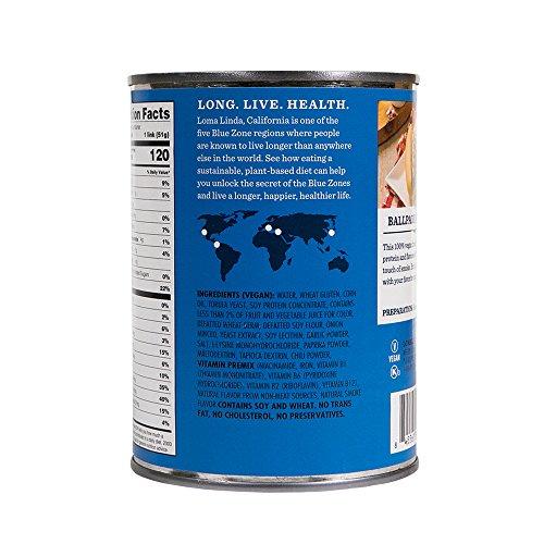 Loma Linda Blue - Vegan - Simple Franks (20 oz.) (Pack of 12) – Kosher by Loma Blue (Image #7)