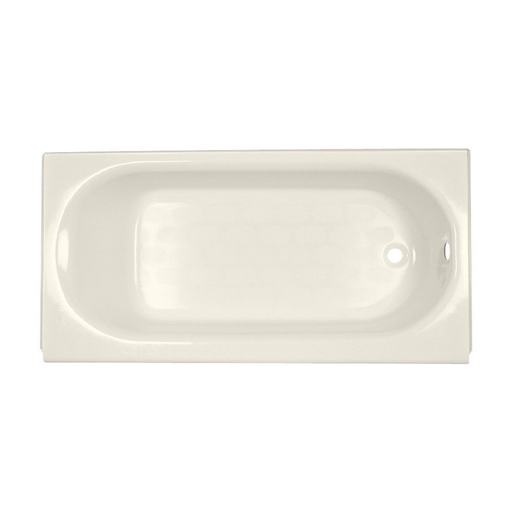 American Standard 2391202.021 Princeton Americast Apron-Front Bathtub with Right Hand Drain, 60 in x 30 in, Bone