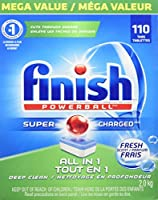 20% off of Finish Dishwasher Detergent Soap,Mega Value Pack, 110 Tablets