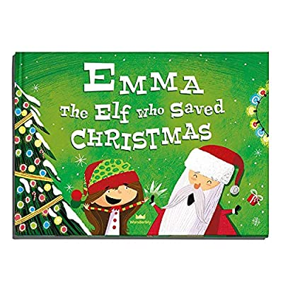 Personalized Christmas Book - The Elf Who Saved Christmas (Softcover) : Baby