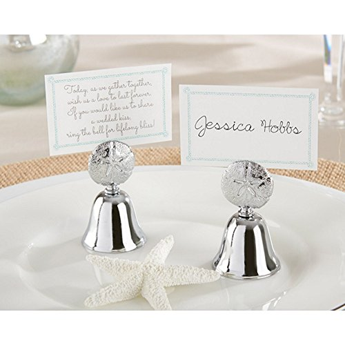 Beach Bliss Kissing Bell Place Card Holder (Set of 96)
