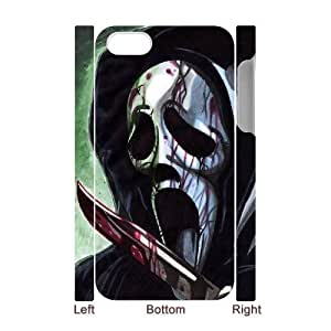 ANCASE Custom Color Printing Scream Phone 3D Case For Iphone 4/4s [Pattern-2]