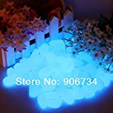 stone tamper - Home Product Newest Decorative Gravel For Your Fantastic Garden or Yard 100 Glow in the Dark Pebbles Stones for Walkway Blue