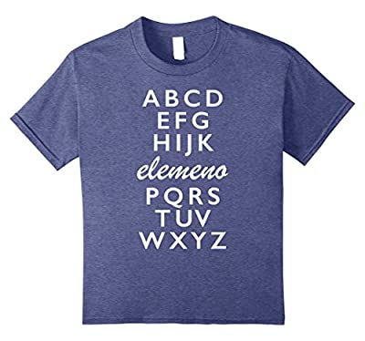 Alphabet Funny T-shirt for Teachers and Students