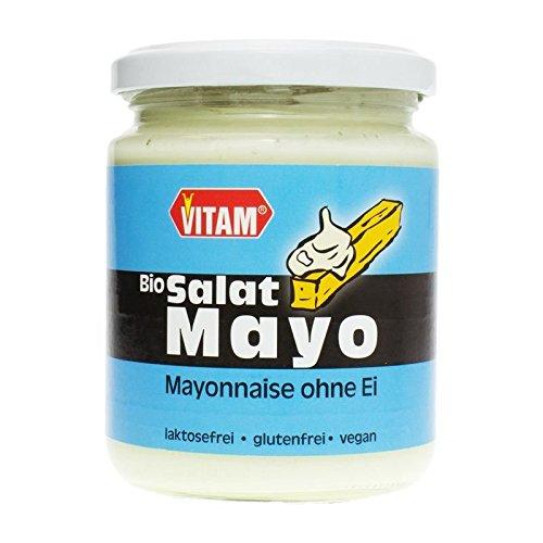 Bio Salat Mayonnaise ohne Ei (225 ml)