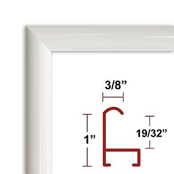 Amazoncom 28 X 40 Poster Frame Profile 15 White Custom Size