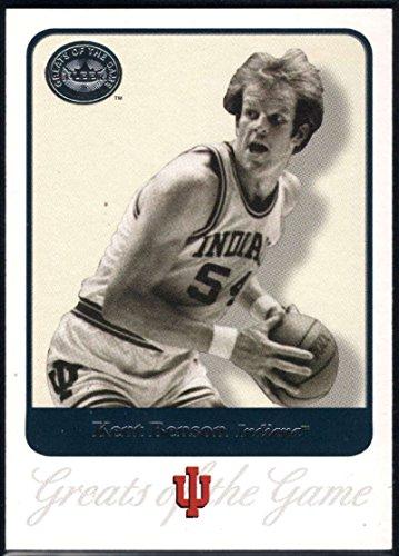 Basketball NBA 2001 Fleer Greats of the Game #46 Kent Benson