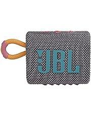 مكبر صوت محمول مضاد للماء جو 3 من جي بي ال - رمادي ، JBL Go3 ، JBLGO3GRY