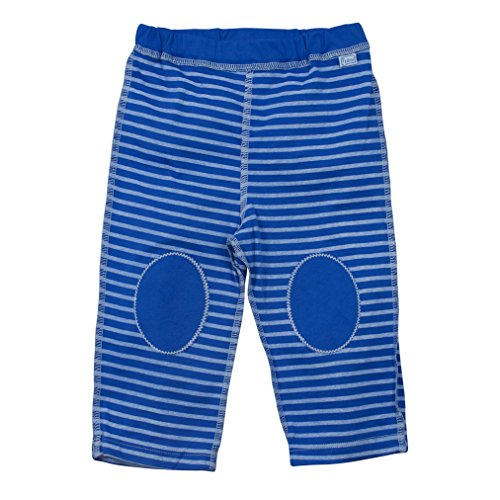 i play. Baby Organic Yoga Pants, Royal Blue Stripe 12mo
